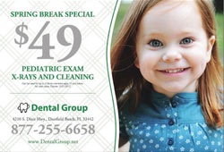 Free full color postcard marketing templates for pediatric dental practice
