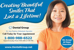 Free dental marketing postcards for orthodontists from postcards123.com