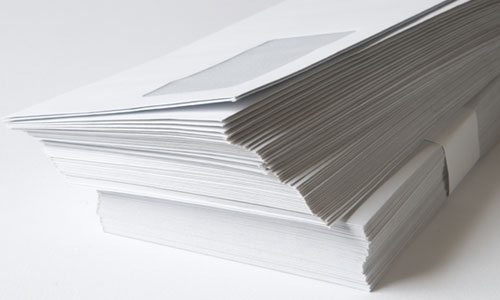affordable business envelope printing at postcards123.com