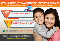 Free postcard templates for pediatric dental offices